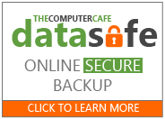 The Computer Cafe Data Safe Program - Call NOW for a free trial